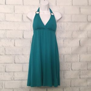 NWT Turquoise Halter Dress